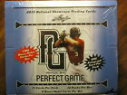 2 Factory Sealed Hobby Box Lot - 2013 Leaf Perfect Game Showcase Baseball Cards