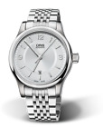 NEW IN BOX Oris Men's Classic Date Silver Dial Automatic Watch 73375944031MB