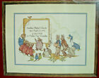 Beatrix Potter Special Announcement Birth Sampler Counted Cross Stitch Kit