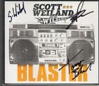 scott weiland and the wildabouts blaster cd signed autographed