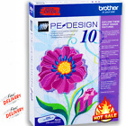 Brother PE Design 10 Embroidery Full Software  Free Gifts INSTANT DELIVERY!!!!!!