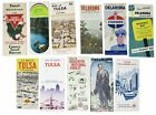 Travel / LOT Of OKLAHOMA ROAD HIGHWAY And AREA MAPS 1940s 1979
