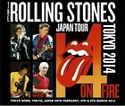 The Rolling Stones 14 On Fire 2014 Japan Tokyo Dome SEE NO EVIL CD 6 Discs Case