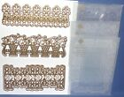 Anna Griffin Lace Border Dies  3D Embossing Folder Matching All New You Pick