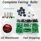 CNC Fairing Bolts Kit Bodywork Motorcycle For Kawasaki ZX-11C 1990-1993