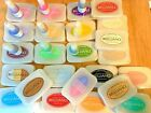 BRILLIANCE Archival Pigment Ink Stamp Pads Re Inkers Dew Drops pre owned