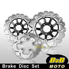 Front + Rear SS Brake Disc 3pcs For Suzuki GS 1200 SS (GV78A) year 01