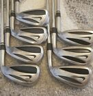 Nike Slingshot IRONS GREAT CONDITION TRUE TEMPER R FLEX SHAFTS 345678P