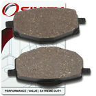 Front Organic Brake Pads 2007-2009 Yamaha YBR 125 ESD Set Full Kit 4P26 Cast xd