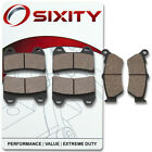 Front + Rear Organic Brake Pads 2007 Victory Hammer S Set Full Kit  Complete ny