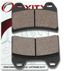 Front Organic Brake Pads 2007-2008 Moto Guzzi Breva 750 Set Full Kit V750 ie yt