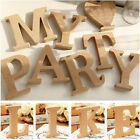 26 A Z Wooden Freestanding Letters Alphabet Wedding Party Crafts Home DIY Decors