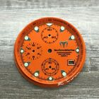 TECHNOMARINE 30mm Orange Dial, Sub-Dials & Chapter Ring for Squale Model