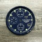 TECHNOMARINE 30mm Navy Blue Dial, Sub-Dials & Chapter Ring for Squale Model