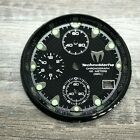TECHNOMARINE 30mm Black Dial, Sub-Dials & Chapter Ring for Squale Model