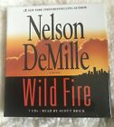 Nelson DeMille Wild Fire Abridged Audio Book CDs Brand New Gift Quality