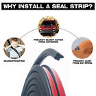 Seal Trim L Shape Weather Strip Door Engine Trunk Noise  Water Proof Guard 9fts