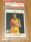KEVIN DURANT ROOKIE CARD PSA 10 2007 TOPPS #2