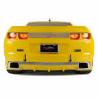 Rear Laser Mesh Valance Trim for 10 13 Camaro RS w RS Ground Effects Polished