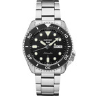 AUTHORIZED DEALER Seiko 5 Mens SRPD55 Black Dial Automatic Stainless Steel Watch