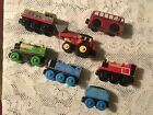 Thomas The Train Wooden Lot of 7 Bertie Percy Thomas skarloey frank jack ed's
