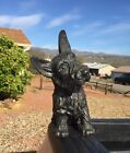 "Rare Vintage Texaco Oil Co. Promotional Cast Metal Scotty Dog 7 1/4"" Tall Signed"