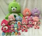 LARGE Care Bears  Cousins Toy Lot Of 21 Plushes Figures Toys Stuffed Animals
