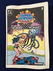 1984 Kenner DC Comics Super Powers Wonder Woman Mini comic Book Only
