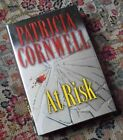 NEW Signed AT RISK Patricia Cornwell 2006 1st Ed First Edition Printing