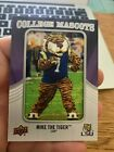2012 Upper Deck Football College Mascots Patch Card Guide 60