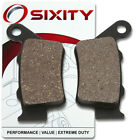 Rear Organic Brake Pads 2007 ATK 450 XC Set Full Kit  Complete fv
