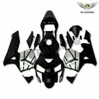 Fit for Honda CBR600RR 2003 2004 F5 Black Silver New  Injection Fairing p001