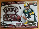 2015 Panini Crown Royale Football Hobby Box 2 Autos 4 Hits
