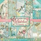 Stamperia Double Sided Paper Pad 12X12 10 Pkg Wonderland 499993609671