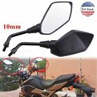 Universal Motorcycle Mirror Scooter Side Rear Rearview Mirrors 10mm For Honda US