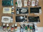 MIXED BRAND Pigment  DYE Ink Stamp PadsW Re Inkers pre owned