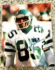 NEW YORK JETS WESLEY WALKER AUTOGRAPHED 8X10 COLOR PHOTO ACRYLIC HOLDER