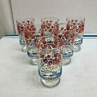 LOT OF SIX 1950'S GLASSES--12 0Z TUMBLERS--NOS --ANCHOR HOCKING??
