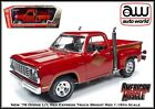 Auto World New 78 Dodge 150 LiL Red Express Truck 118 Scale Diecast Car
