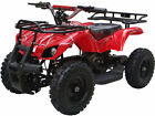 Kids Child Red Four Wheeler Outdoor 24V Electric Battery Mini ATV Quad Sonora