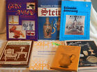 COLLECTORS ENCYCLOPEDIA REFERENCE BOOKS LOT GLASS WICKER ALADDIN STEIN POSTCARD