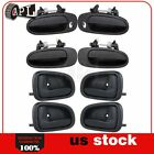 Door Handles fits for 93 97 Toyota Corolla Geo Prizm Outside  Inside Set of 8