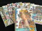 WHIMSICAL CATS theme blank note cards Set of 8