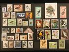 BIRDS FOWL ORNITHOLOGY ON STAMPS TOPIC Stamp Collection FREE SHIPPING lot 3