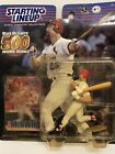 2000 Mark McGwire Starting Lineup Baseball figure 500 HR Card toy Cardinals A's