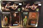 Firefly Malcolm Reynolds Comic Con Super 7 Reaction Action Figure J Cobbs Funko