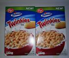2 Boxes NEW POST HOSTESS TWINKIES CEREAL 19 OZ (538g) BOX Exp. 8/20/20