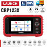 LAUNCH X431 CRP123X Car Diagnostic Tool OBD2 Scanner Code Reader Engine Check