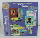 Busy Scrappers Solution DISNEY Papers Mickey Magic Kingdom Princesses VGUC