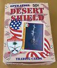 1991 Pacific Operation Desert Shield Trading Cards Wax Box
